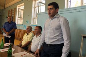 Встречас коллективом спортивной школы сельского поселения Чалтырь
