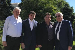 Встреча с Чрезвычайным и Полномочным Послом Румынии