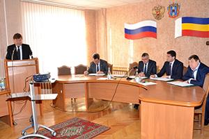 Заседание депутатов Аксайского района