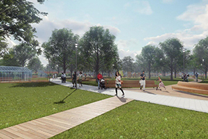 Строительство парков в Аксайском районе