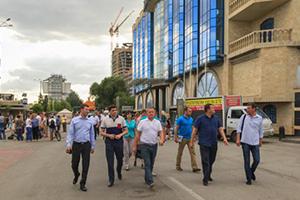 Ростовская набережная превратилась в пишеходную зону