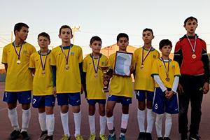 Футбольный турнир в Большесальском сельском поселении