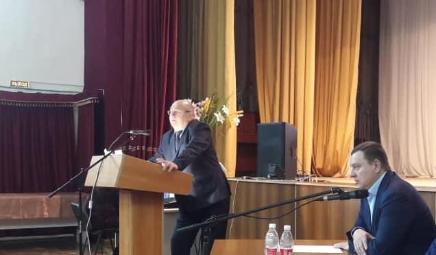 Отчёт главы Рассветовского сельского поселения