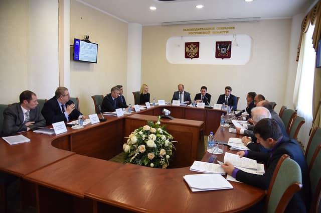 Заседание комитета по законодательству Законодательного Собрания Ростовской области