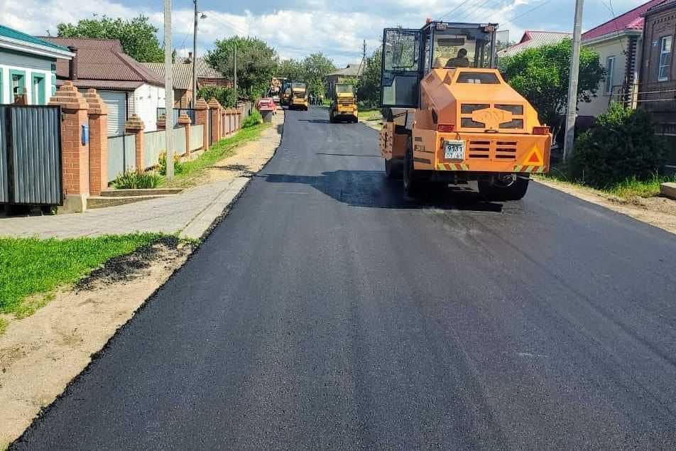 Завершен ремонт улицы Налбандяна в Мясниковском районе