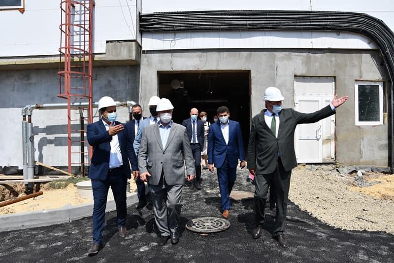 Рабочий выезд губернатора Ростовской области в посёлок Ковалёвка Аксайского района