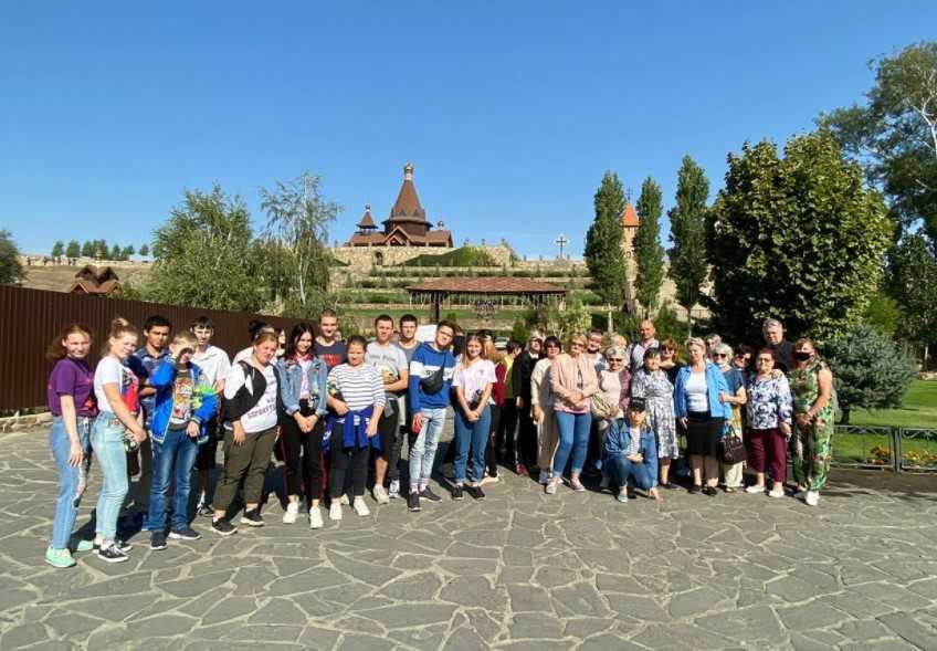 Поездка в Логопарк в хуторе Старая Станица для детей с ОВЗ