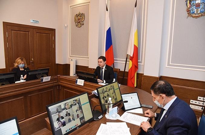 Круглый стол комитета по законодательству Законодательного Собрания Ростовской области
